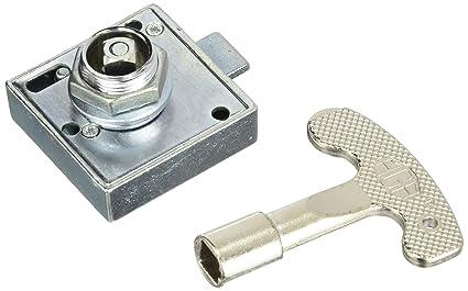 Aga Z59800 bolsa indivi. - Cerradura de cuadradillo de 8 mm.con llave