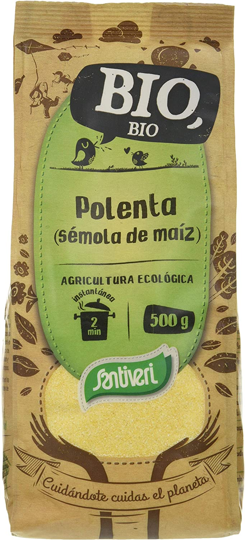 Santiveri Polenta Instantanea 500 g: Amazon.es: Alimentación ...