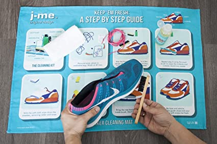 Unbekannt j-me Sneaker Cleaning Kit Reinigungsset Pflegeset Schuhputz-Set JqleG9z