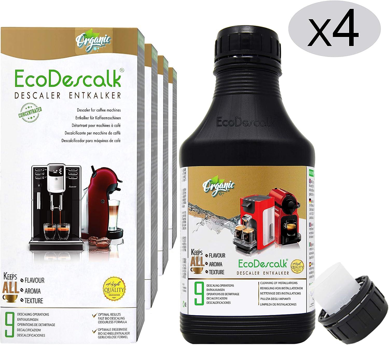 EcoDescalk Ecológico Concentrado (4x9 Descalcificaciones ...