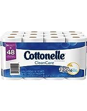Cottonelle CleanCare Toilet Paper, Bath Tissue, 24 Double Rolls