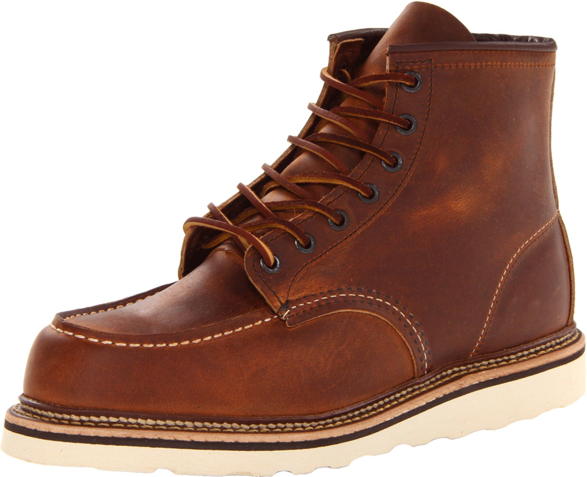 """Red Wing Heritage Men's 6"""" Moc Toe Copper Rough"""
