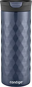 Contigo SNAPSEAL Kenton Vacuum-Insulated Stainless Steel Travel Mug, 20 oz., Serenity
