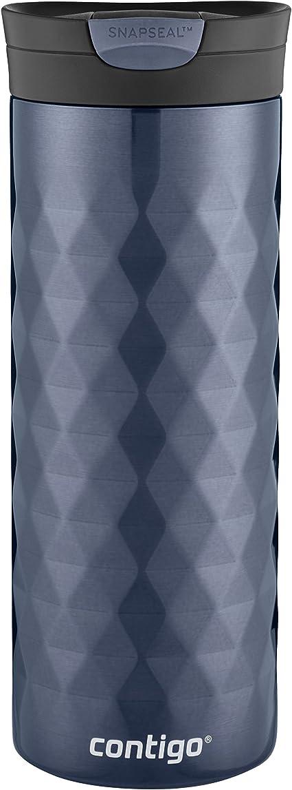 Contigo SNAPSEAL Kenton Vacuum-Insulated Stainless Steel Travel Mug, 20 oz., Serenity