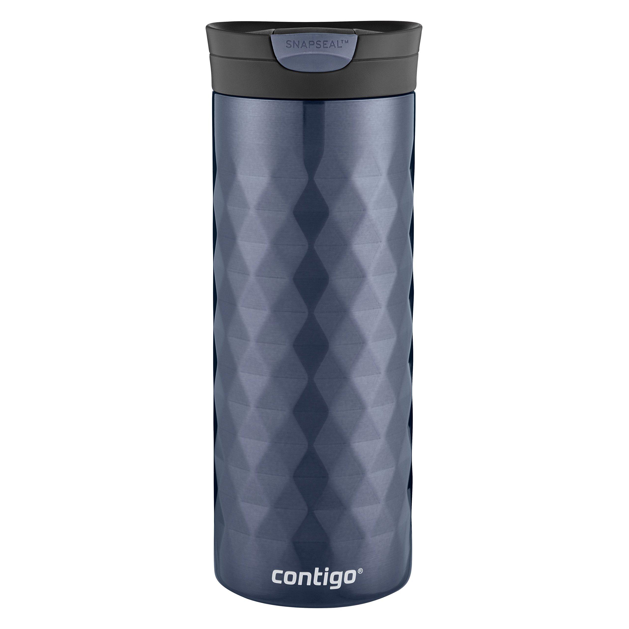 Contigo SnapSeal Kenton Stainless Steel Travel Mug, 20 oz, Serenity