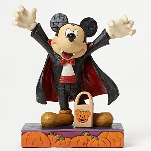 Jim Shore for Enesco Disney Traditions by Vampire Mickey Mouse Figurine, 6