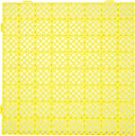 Patiolife Drainage Tiles Interlocking 25 Pack Rubber Tiles Interlocking 11.8x11.8x0.5 Inches