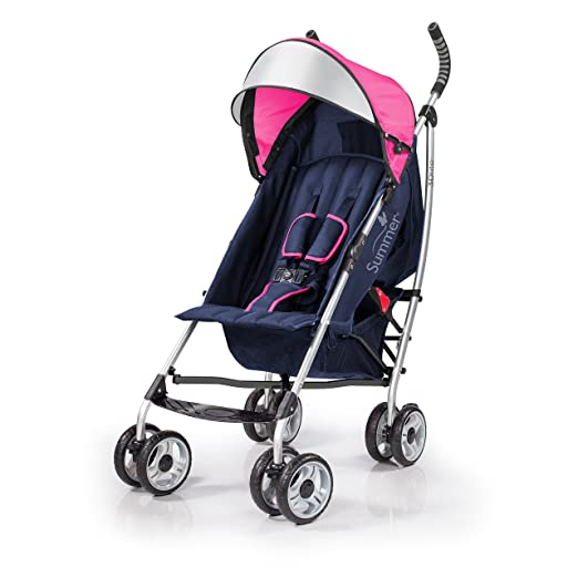 Summer Infant 2015 3D Lite Convenience Stroller, Newport