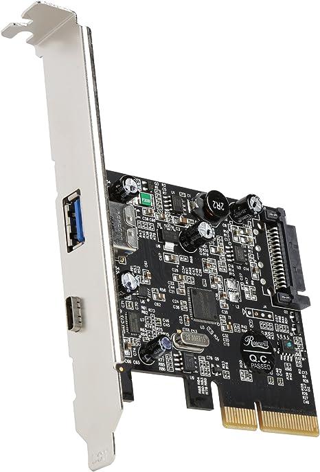 Amazon.com: Tarjeta PCIe FireWire 1394a Rosewill 2+ ...