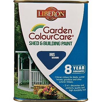 Liberon Abri Et De Peinture 1 L Couleur Iris Amazonfr Jardin