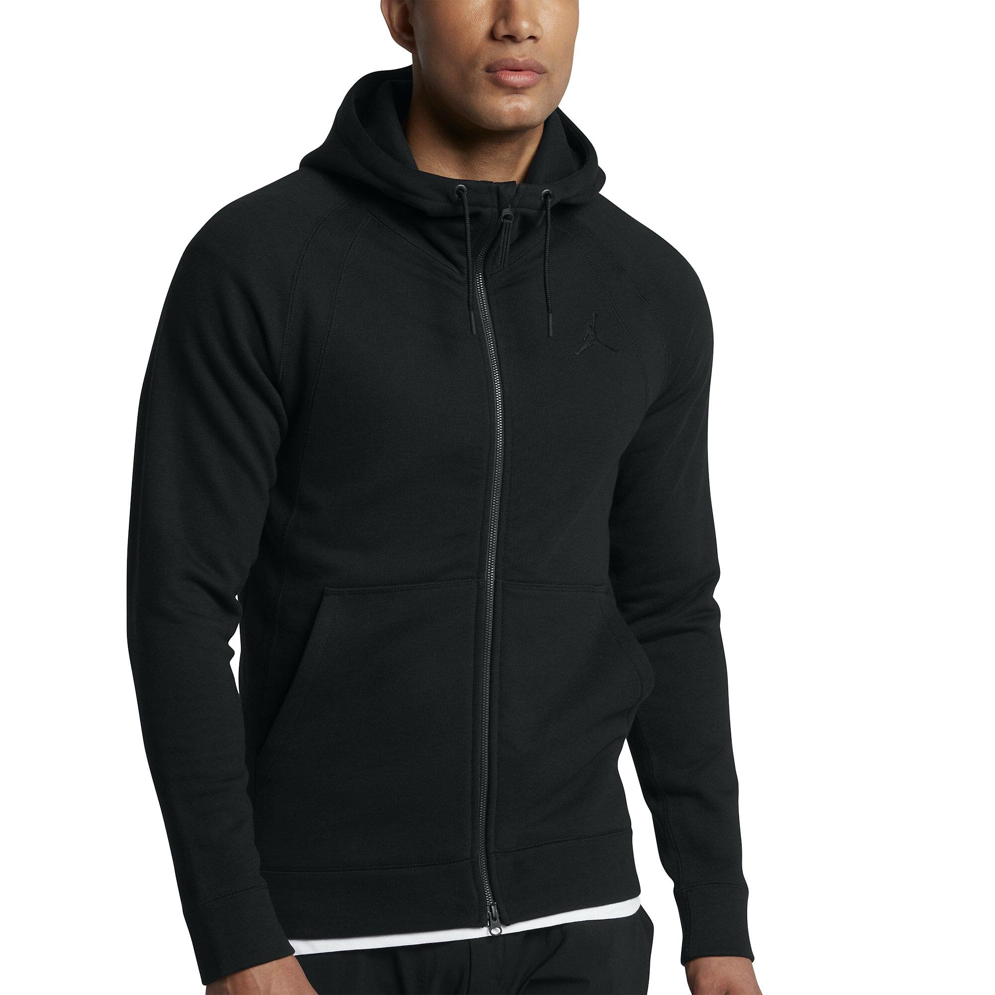 Jordan Sportswear Wings Fleece Full Zip Hoodie Mens Style : 860196