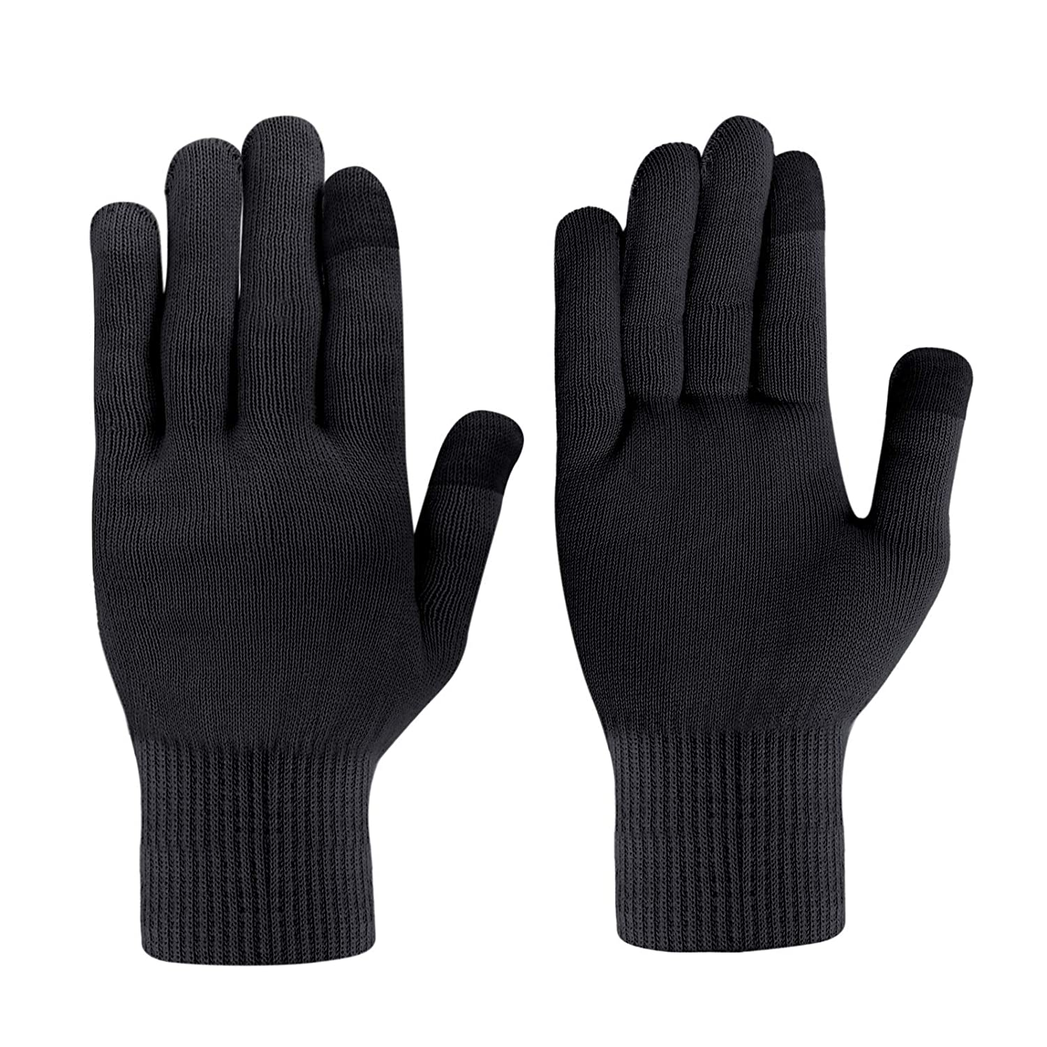 MIG4U Moisturizing Beauty Gloves Touch Screen Overnight Sleeping Glove Large for Men SPA, Dry Hands, Nighttime Lotion, UV Protection, Cosmetic Treatment, Black 1 Pairs : Beauty