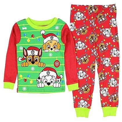 paw patrol little boys girls toddler christmas pajama set 2t