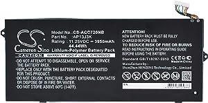 3950mAh/11.25V Battery Replacement for Acer Chromebook 14 CB3-431-C6QQ Chromebook C720-3871 Chromebook C720 31CP5/65/88 AP13J4K(3ICP5/65/88) 31CP5/67/90 AP13J3K AP13J4K KT.00303.001