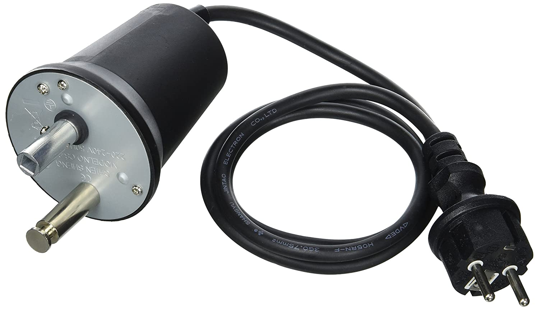 Negro Cao el/éctrico Motor Unisex
