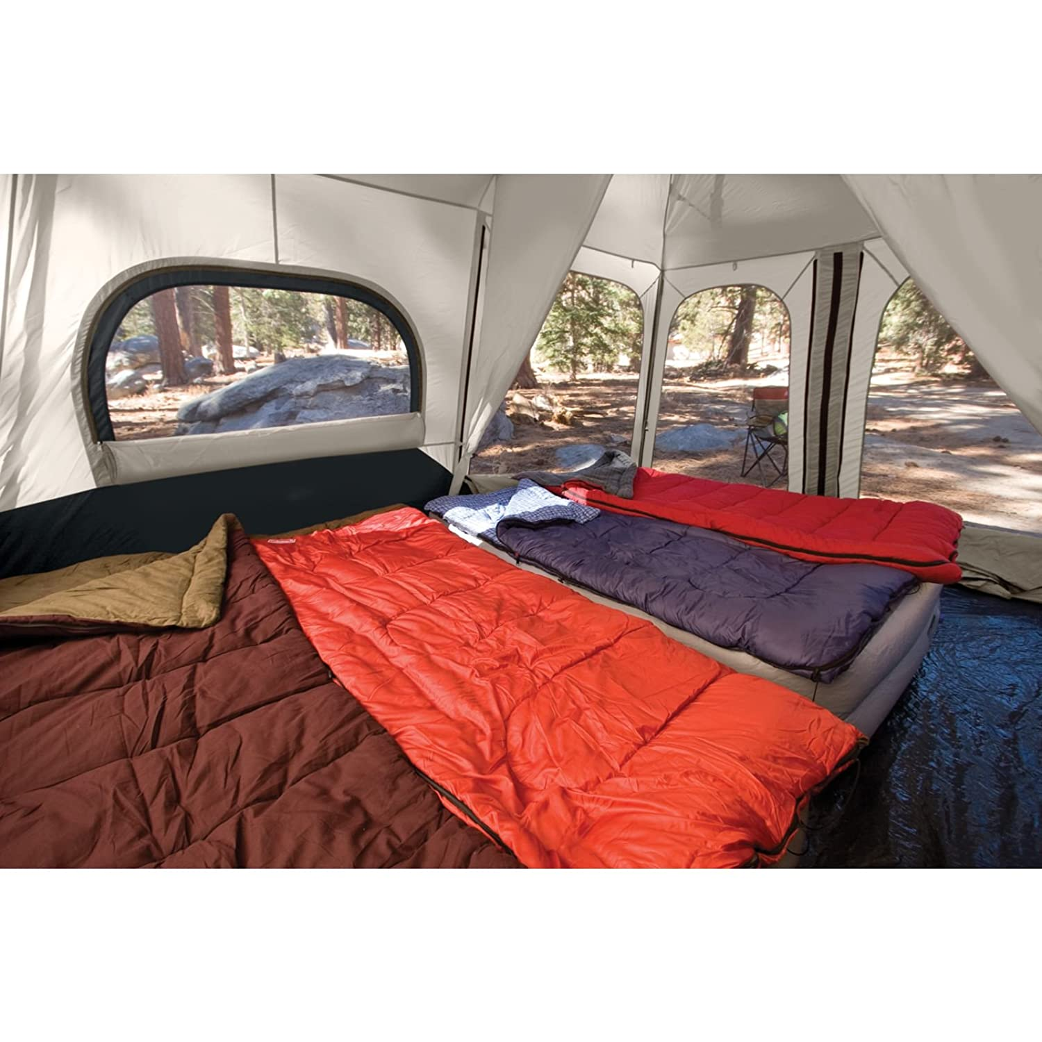 Coleman 8-Person Instant Tent  sc 1 st  Outdoor Tricks : coleman 8 person tents - memphite.com
