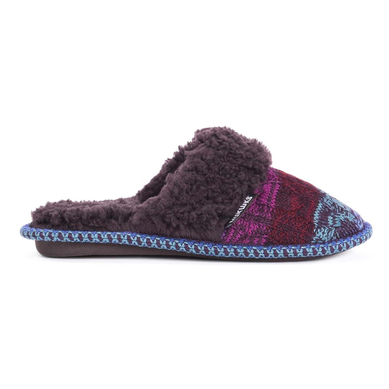 51a407a3c11 Amazon.com | MUK LUKS Women's Perlyn Scuff Slippers | Slippers