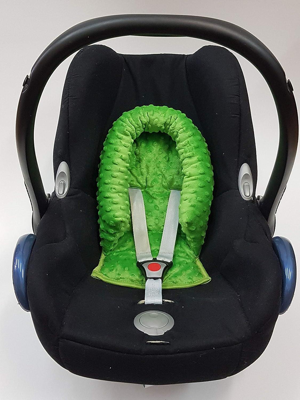 0-6 meses Pink Sweet Baby ** SOFTY MINKY ** Reductor para silla de beb/é Maxi Cosi//R/ömer etc // Protector de cuerpo para coche