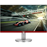 """AOC Limited Edition G2490VXS 24"""" class Frameless Gaming Monitor with Silver Stand, FHD 1920x1080, 1ms 144Hz, FreeSync Premium"""