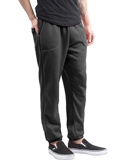 2aa7d87ce6a Ma Croix Mens Lightweight Sweapants with Pockets Elastic Waist Joggers (4X-Large