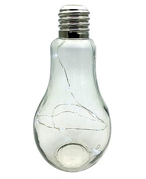 Bombilla Extra Grande Estilo Lámpara de pie LED funciona con pilas: Amazon.es: Hogar