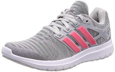 adidas Energy Cloud WTC w - Chaussures de Course pour Femme, Gris, Taille: 38 2/3