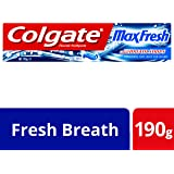 Colgate Max Fresh Breath Freshness Toothpaste Cool Mint, 190g