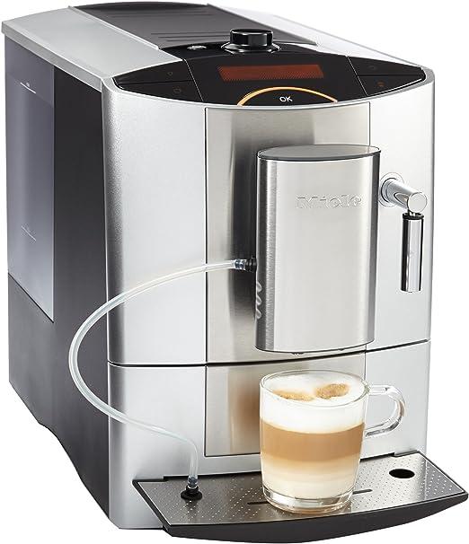 Miele CM 5200 - Cafetera (Independiente, Plata, Goteo, Granos de café, De café molido, Café con leche, Capuchino, Café expreso, Leche caliente, Agua caliente, 1,8L): Amazon.es: Hogar