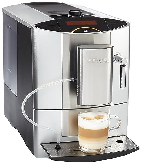 Miele CM 5200 - Cafetera (Independiente, Plata, Goteo, Granos de café,