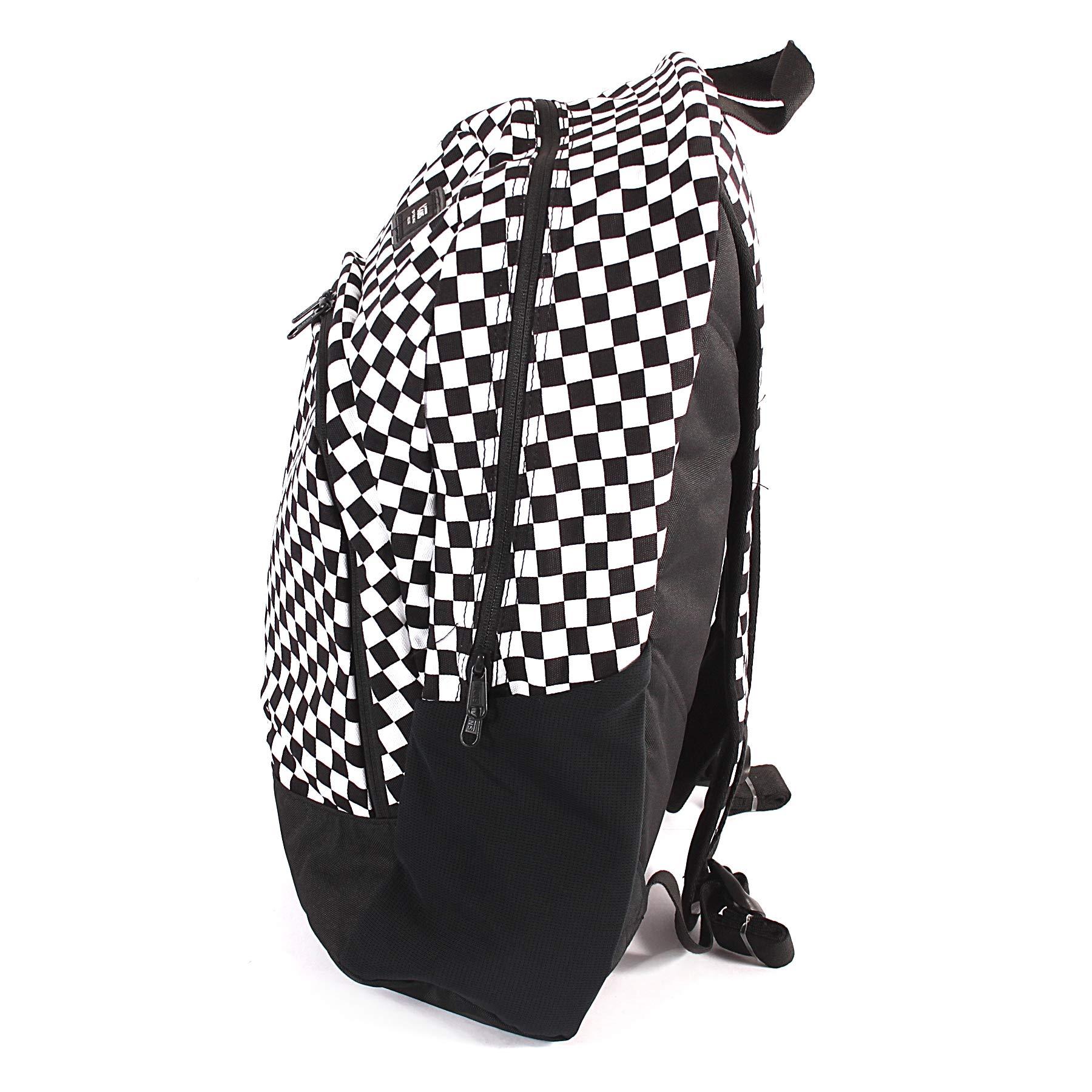 VANS Van Doren Original Backpack One Size Black White