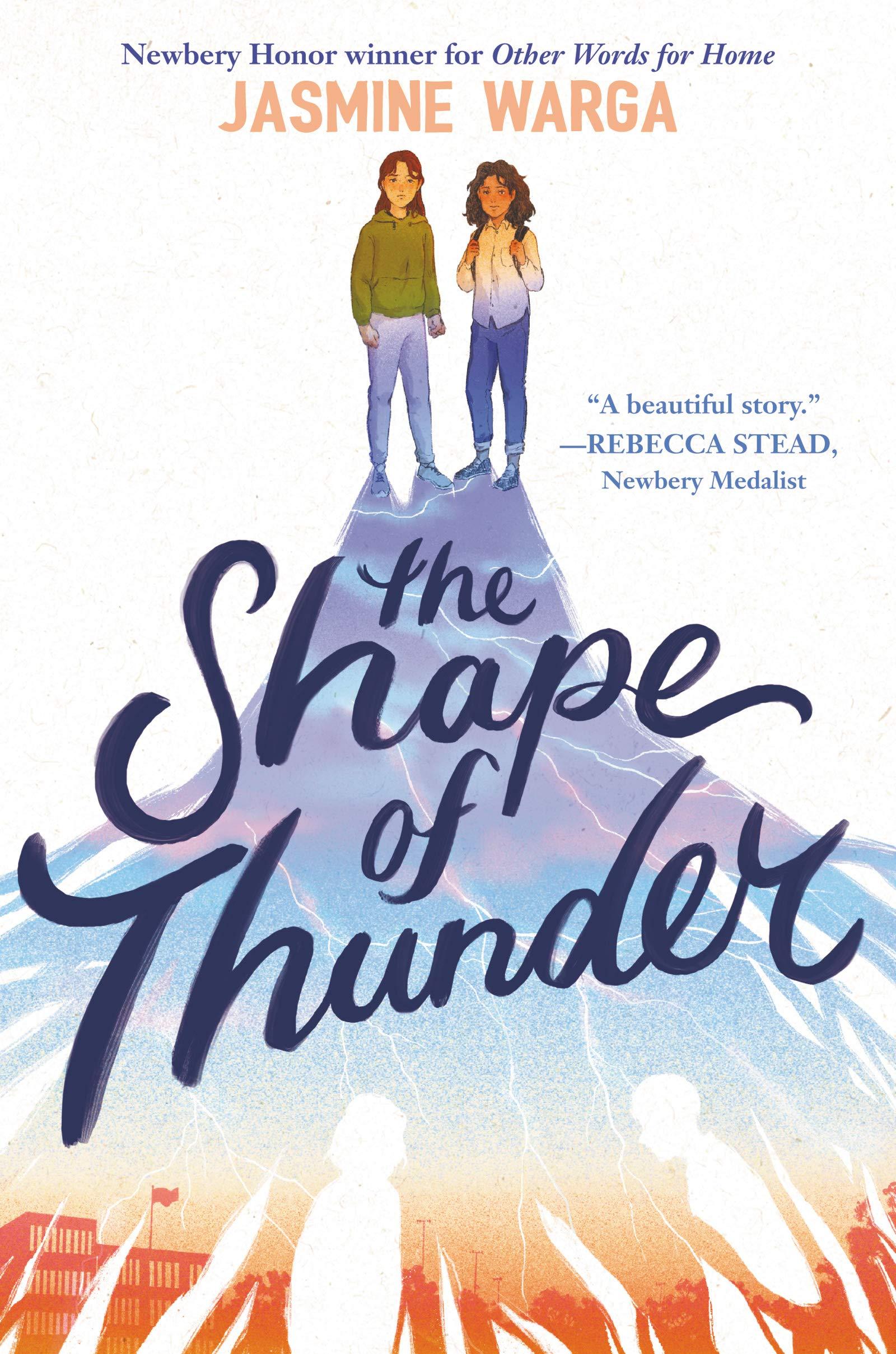 The Shape of Thunder: Warga, Jasmine: 9780062956675: Amazon.com: Books