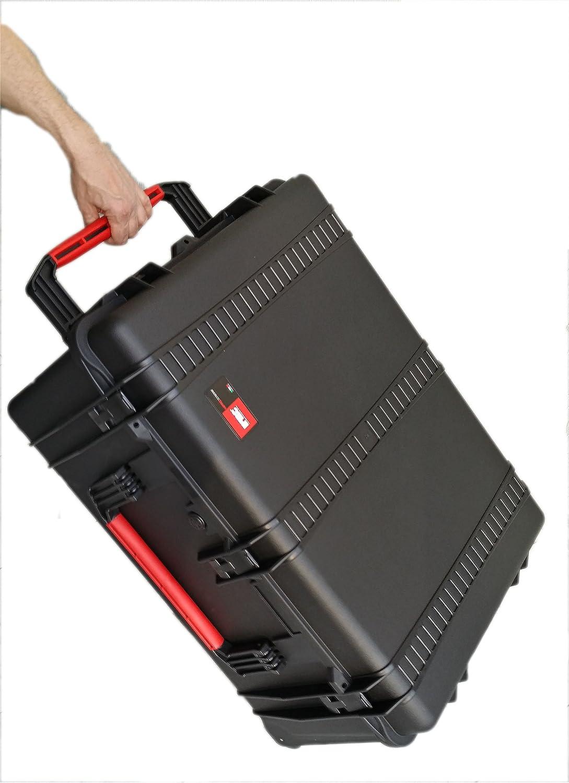 Maleta de transporte idóneo para DJI Inspire One - made by MC-CASES: Amazon.es: Equipaje