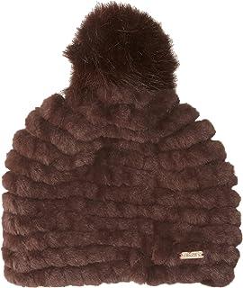 9fbcef48 Calvin Klein Women's Pom Beanie, Heathered Mid Grey, One Size at ...