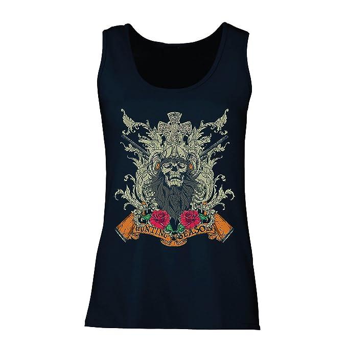 lepni.me Camisetas sin Mangas para Mujer Ropa de Temporada de Caza - Caza de venado o Pato, Ropa de Cazador: Amazon.es: Ropa y accesorios