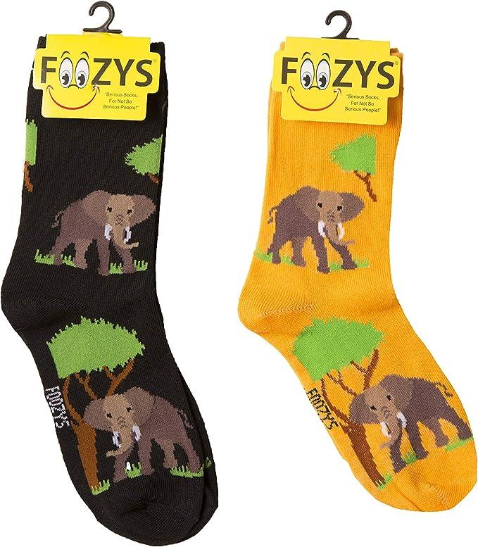 2 Pairs MUSIC NOTES Foozys Novelty Fun Socks Womens Girls Cream Black Sox
