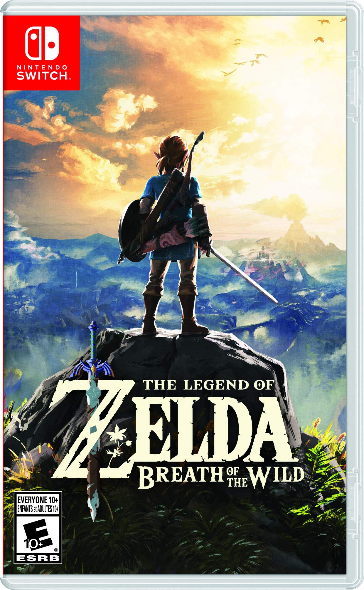 The Legend of Zelda: Breath of the Wild - Switch Edition product image
