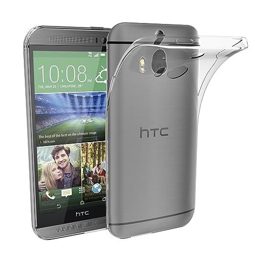 22 opinioni per HTC One M8 Custodia, iVoler® Soft TPU Silicone Case Cover Bumper Caso,[Cristallo