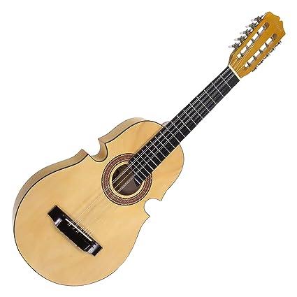 Amazon Com Santa Rosa Kqn Puerto Rican  String Cuatro Puertorriquenocuatro Only Kq Musical Instruments