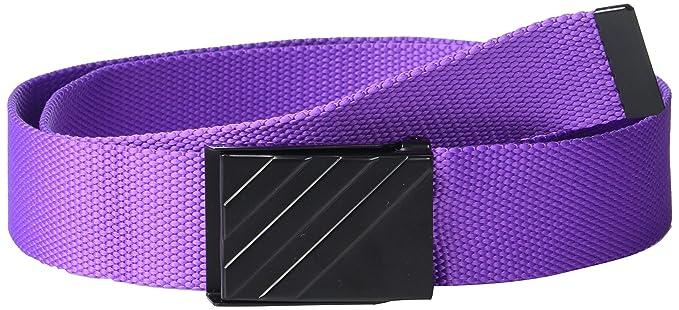 b99a4cfa507bd1 Amazon.com: adidas Golf Webbing Belt, Active Purple, One Size: Clothing
