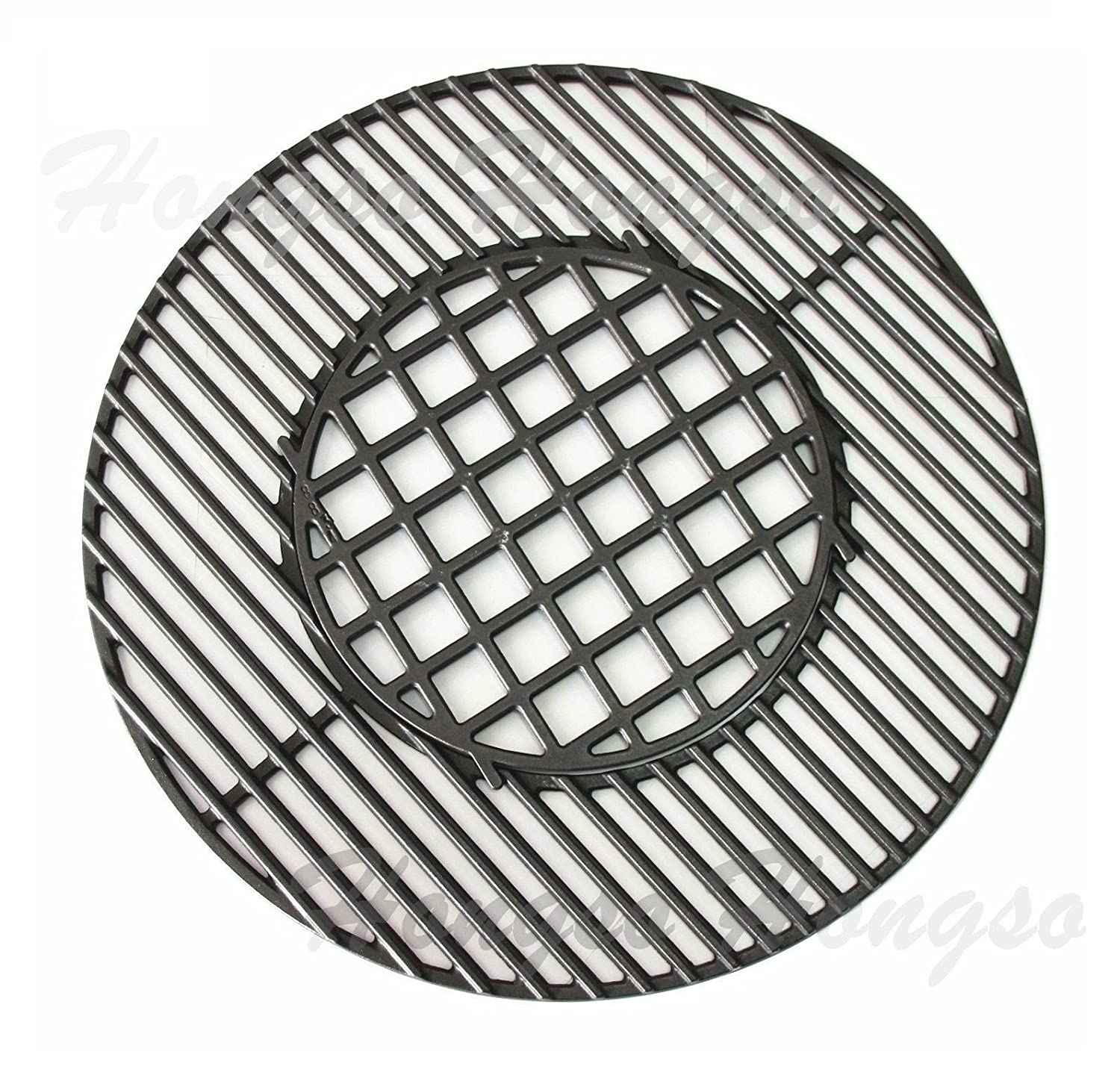 weber grill grates pch835 cast iron gourmet bbq system hinged cooking grate 29052
