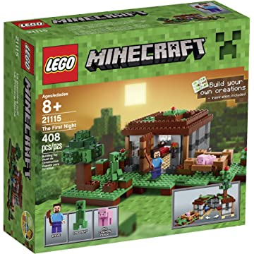 Lego Minecraft First Night