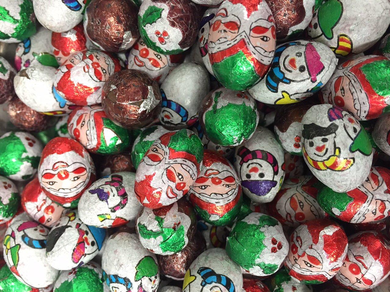 Christmas Festive Chocolate Foils 500g Bag…: Amazon.co.uk: Grocery