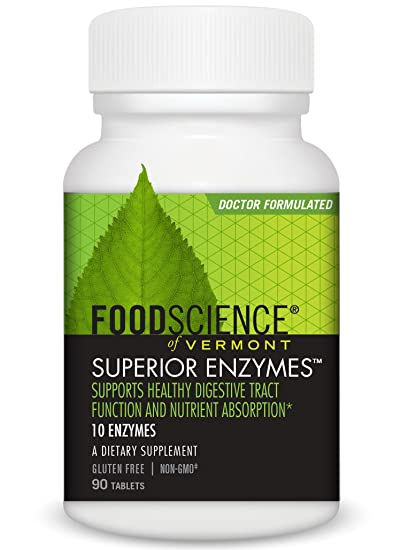Amazon.com: FoodScience of Vermont Superior Enzymes, Digestive ... on