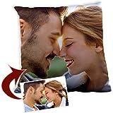Lolapix Cojín Cuadrado Personalizado con tu Foto, diseño o Texto, Original y Exclusivo Distintos tamaños a Elegir. Relleno Incluido. Tamaño 40x40cm.
