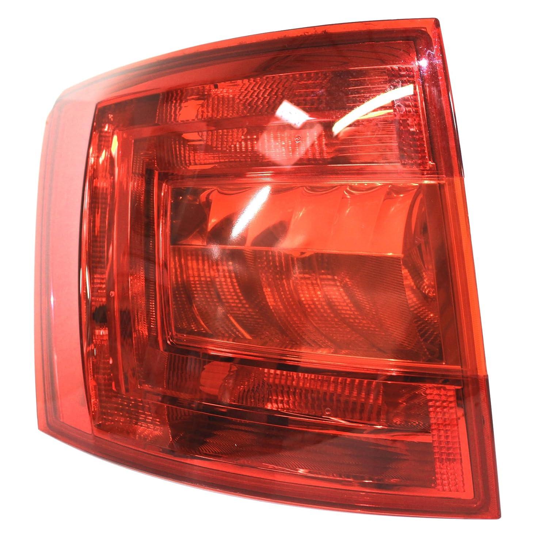 Rear lights Foil Set Dark Compatible With Skoda Octavia 3/5E Estate RS Combi