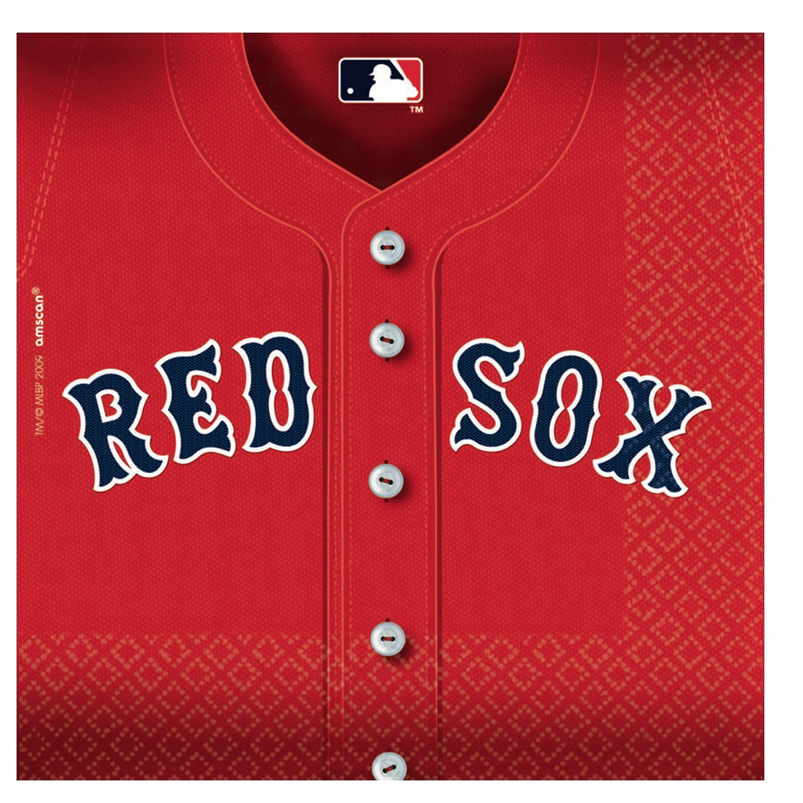 Boston Red Sox Party Napkins - 36 Ct