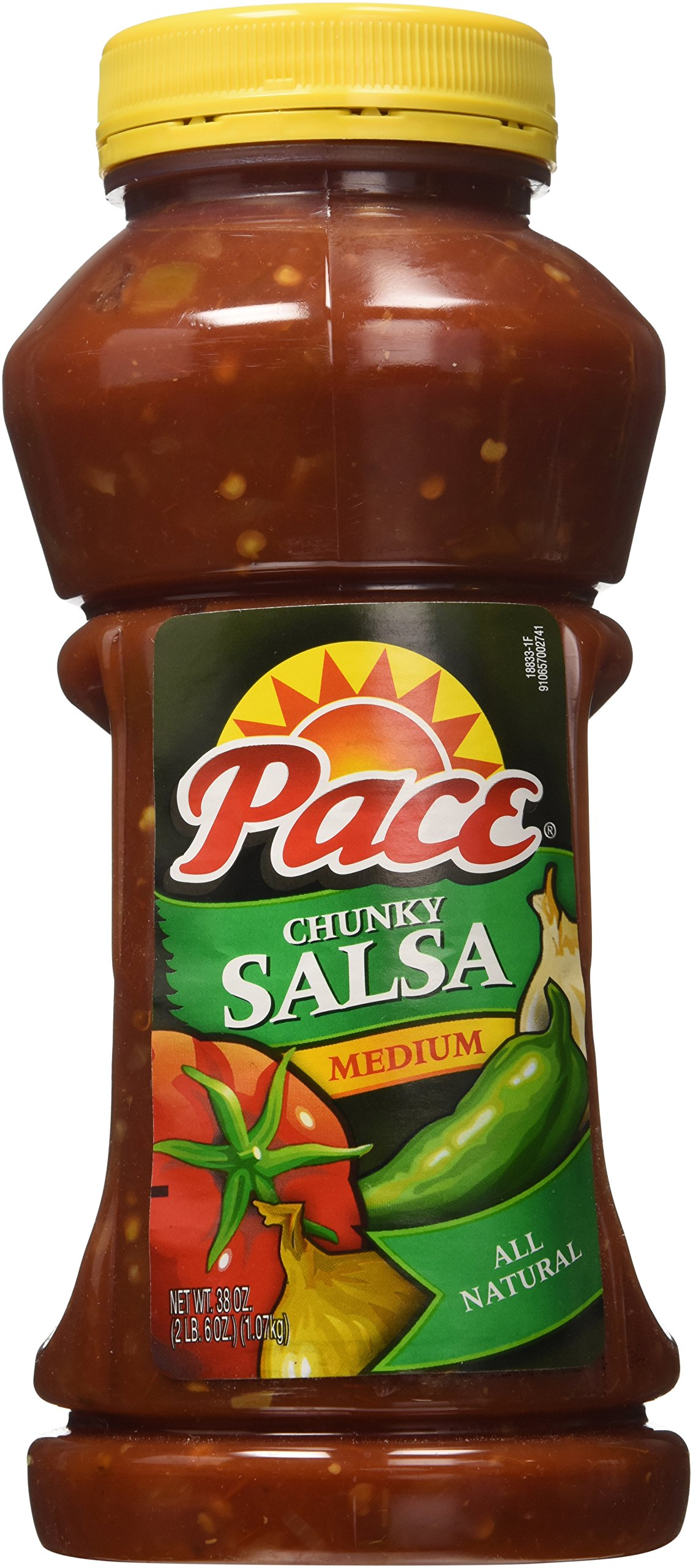 Pace Chunky Salsa - Medium - 2/38 oz. by Pace