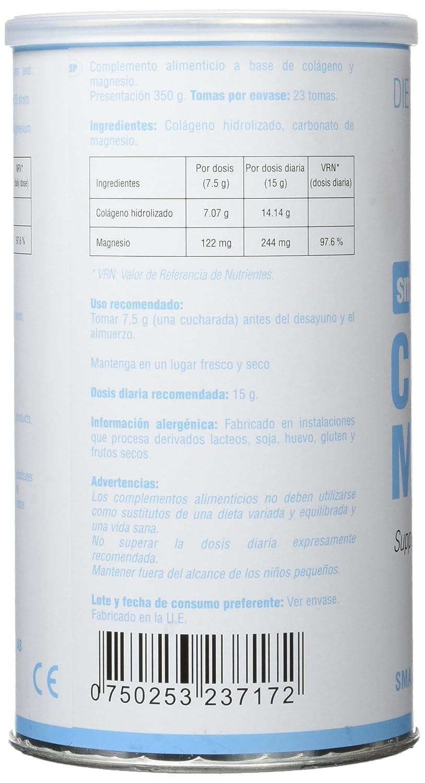 Smart Supplements Colágeno y Magnesio Suplemento - 350 gr: Amazon.es: Salud y cuidado personal