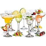 KooK Margarita Clear Durable Glass, 10 Ounce, 8 Piece Set