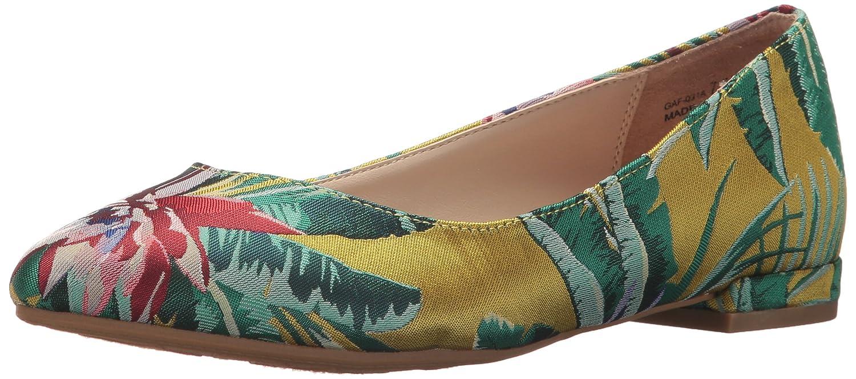 Chinese Laundry Women's Gavin Pointed Toe Flat B07887W1TN 5.5 B(M) US|Yellow Lotus Print